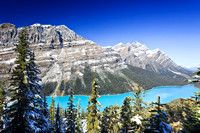 Peyto Lake and Bow summitt, Banff