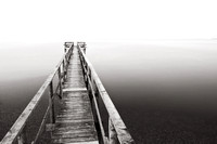 Pier on Lake Winnipeg, near Matlock, Manitoba